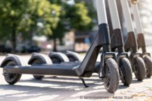 E-Scooter-Verleih in Wiesbaden gestartet